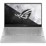 "Laptop Gaming ASUS ROG Zephyrus G14 cu procesor AMD Ryzen™ 9 4900HS pana la 4.30 GHz, 14"", Full HD, 120Hz, 8GB, 512GB SSD, NVIDIA® GeForce® GTX 1660Ti Max-Q 6GB, Free DOS, Moonlight White"