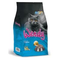 Храна за котки Wendy , Сьомга, 10кг