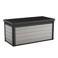 Многофункционален шкаф за съхранение Keter Denali DuoTech, 570 л, 151,7x72,5x70 см, Сив