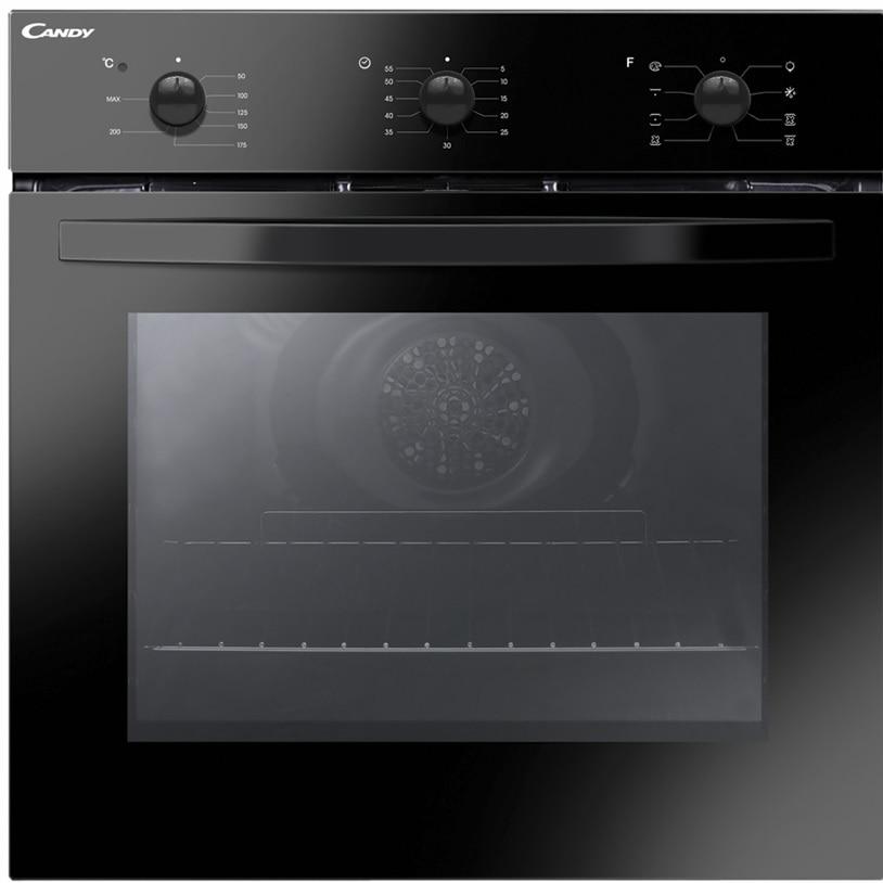 Fotografie Cuptor incorporabil Candy FCS 602N/E, Electric, 65 l, Aquactiva, Grill, Cook Light, Clasa A, Negru
