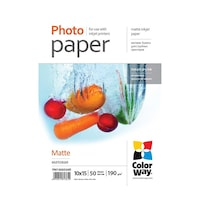 ColorWay CW-PM1900504R fotópapír 10x15cm/50db matt