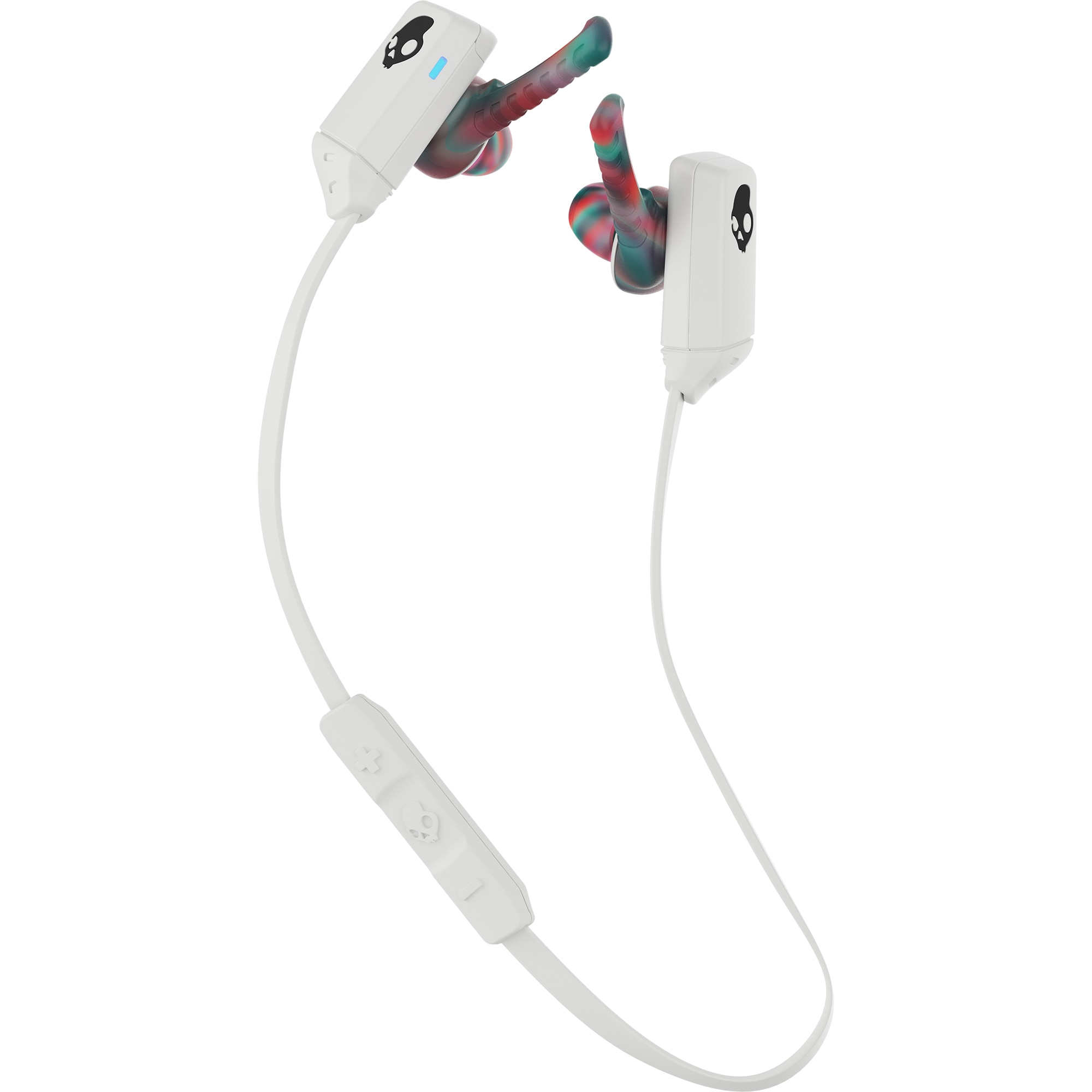 Fotografie Casti In-Ear Mic Skullcandy XTFree Wireless Women, Swirl Cool Gray