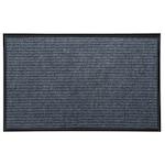 Kring Unique Lábtörlő-beléptető szőnyeg, 100% poliészter, 60x40 cm, Sötétszürke