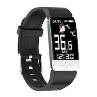SoVog Smart Bluetooth karkötő hőmérővel, 15 funkcióval - hőmérséklet, feszültség, oxigénszint, kihangosító, iOS és Android alkalmazás