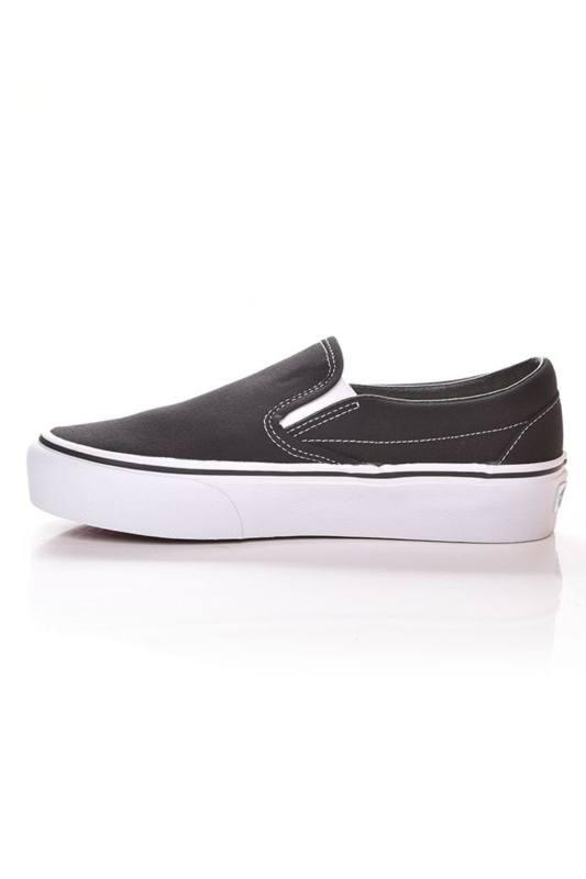 Vans Női Torna cipő, Fekete UA Classic Slip On Platform, V18EBLK 38 EU