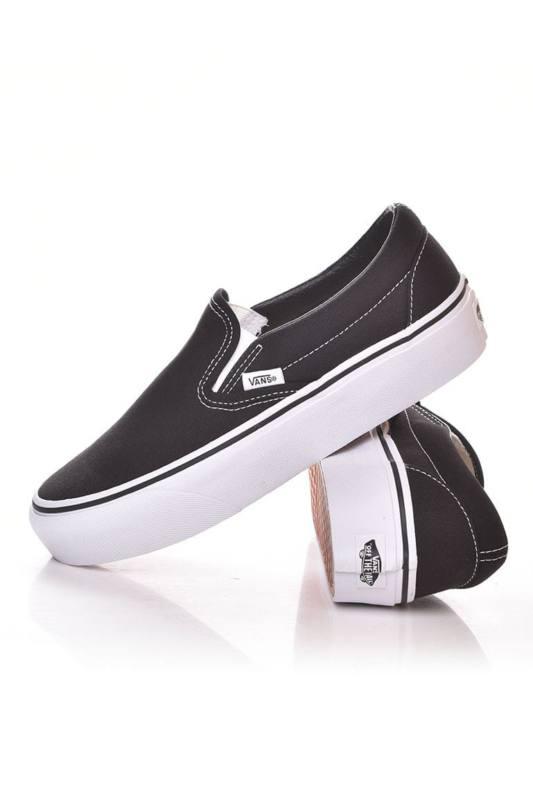 Vans Női Torna cipő, Fekete UA Classic Slip On Platform, V18EBLK 39 EU