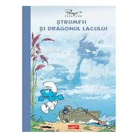 Strumfii si dragonul lacului [Minigrafic], Alain Jost, Thierry Culliford, Jeroen De Coninck, Miguel Díaz