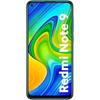 Xiaomi Redmi Note 9 mobiltelefon, Dual SIM, 64GB, 4G, Kártyafüggetlen, Forest Green