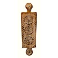 Suport pentru cutite cu piatra de ascutit 1, Artizanat Ilsaf, Ustensila bucatarie, 28x6x4.5 cm