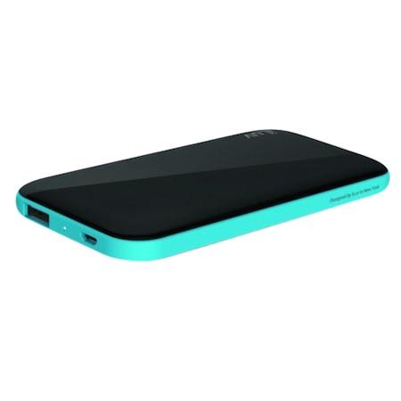 Външна батерия iLuv, 5.000 mAh, Portable, Black