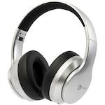 PowerLocus P6 Bluetooth fejhallgató, 40 óralejátszási idő, Bluetooth 5.0, Érintésérzékelő gomb, vezeték nélküli, fül köré illeszkedő, összehajtható, Ezüst