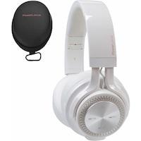 PowerLocus P3 Bluetooth fejhallgató,40 óralejátszási idő, ,vezeték nélküli fül köré illeszkedő összehajtható - Fehér