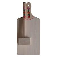 Set 2 piese din lemn, Artizanat Ilsaf, Ustensile de bucatarie, 35x16x6 cm