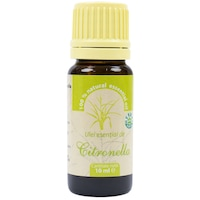 Ulei esential de Citronella (Cymbopogon nardus) 100% pur fara adaos 10 ml