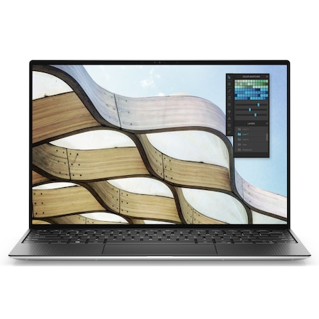 Лаптоп Dell XPS 9300 с Intel Core i7-1065G7 (1.30/3.90 GHz, 8M), 16 GB, 2 TB M.2 NVMe SSD, Intel Iris Plus (Ice Lake), Windows 10 Pro 64-bit, сребрист / Черен