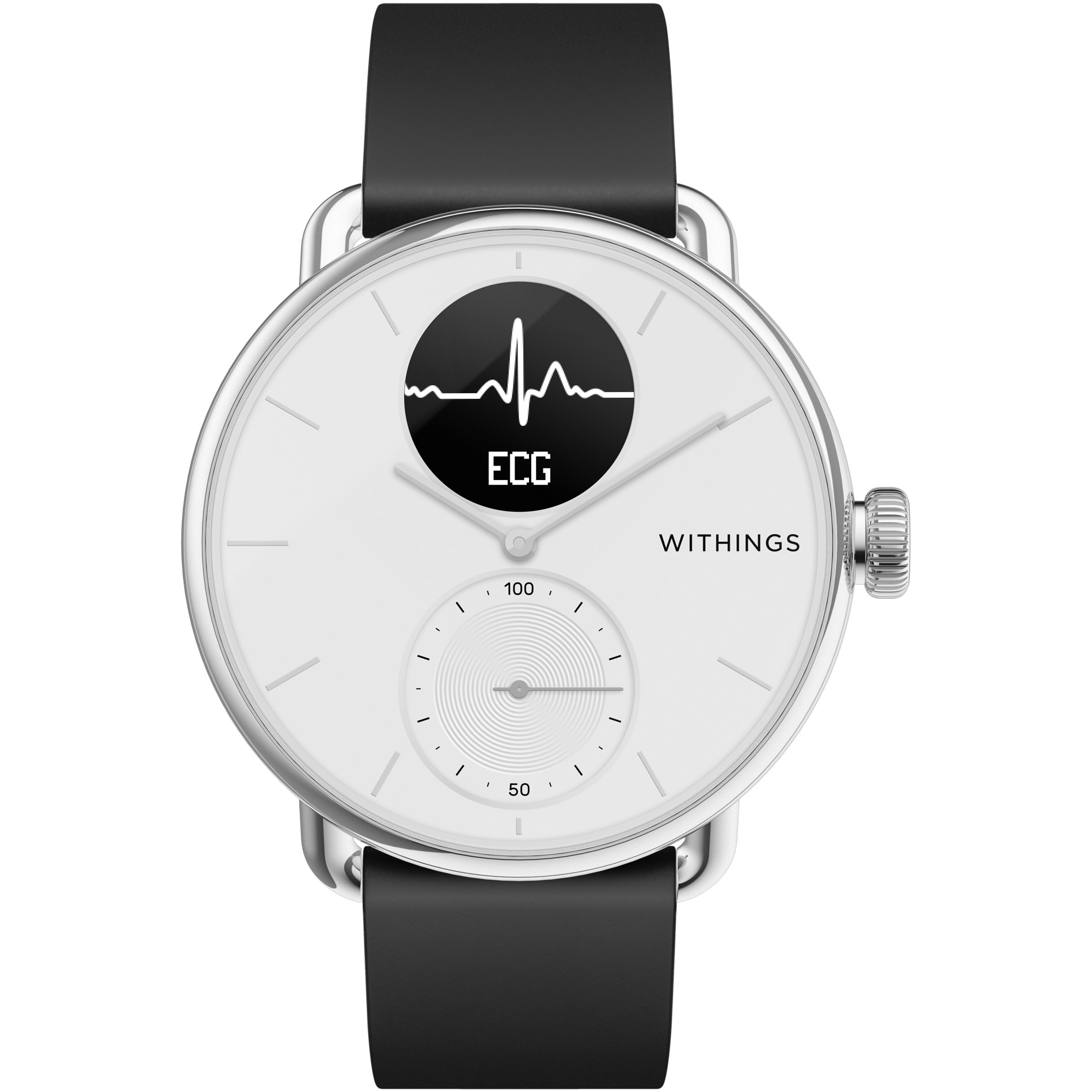 Fotografie Ceas smartwatch Withings Scanwatch, 38mm, White