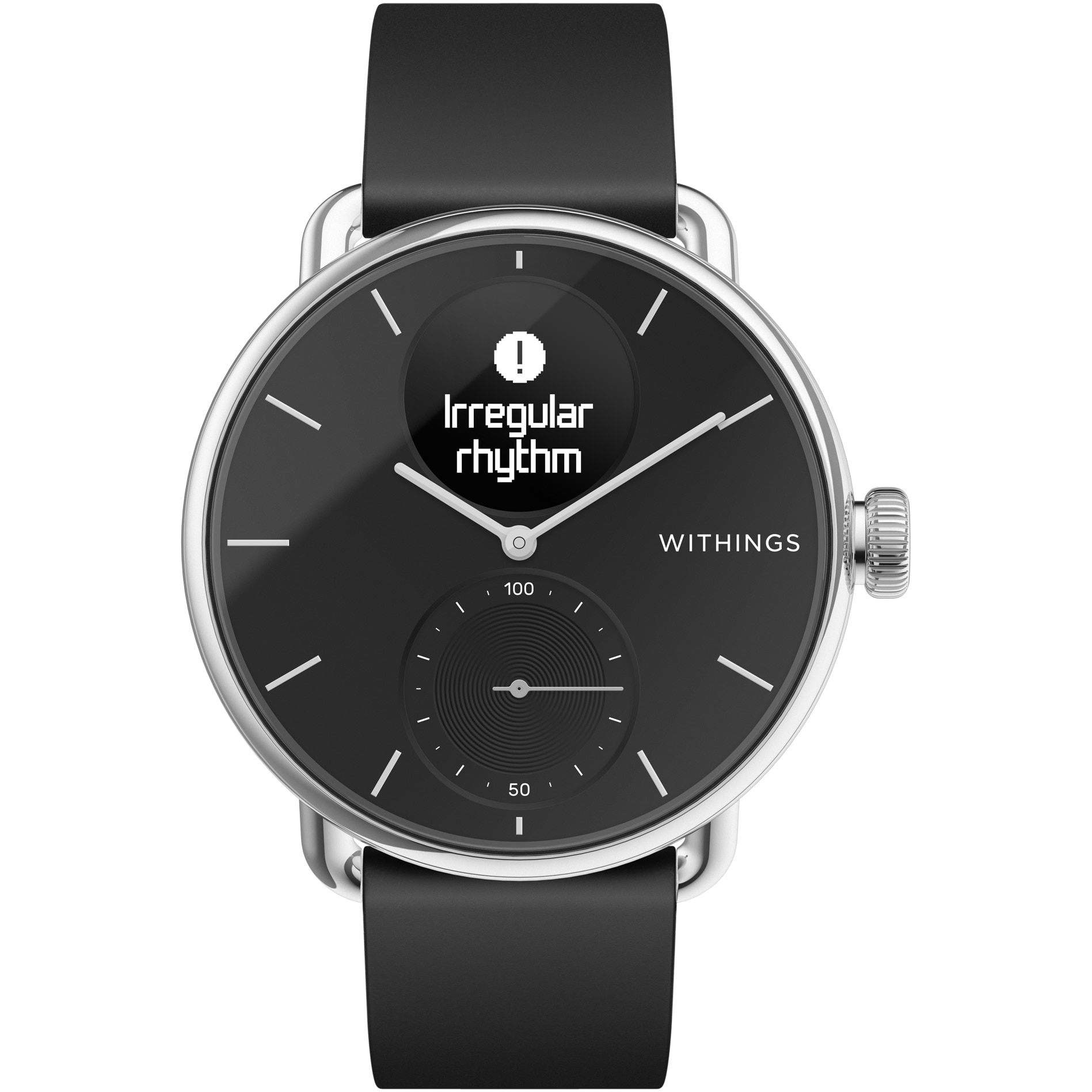Fotografie Ceas smartwatch Withings Scanwatch, 38mm, Black