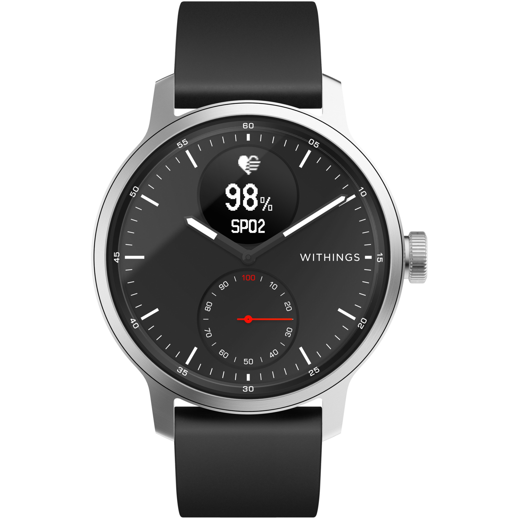 Fotografie Ceas smartwatch Withings Scanwatch, 42mm, Black