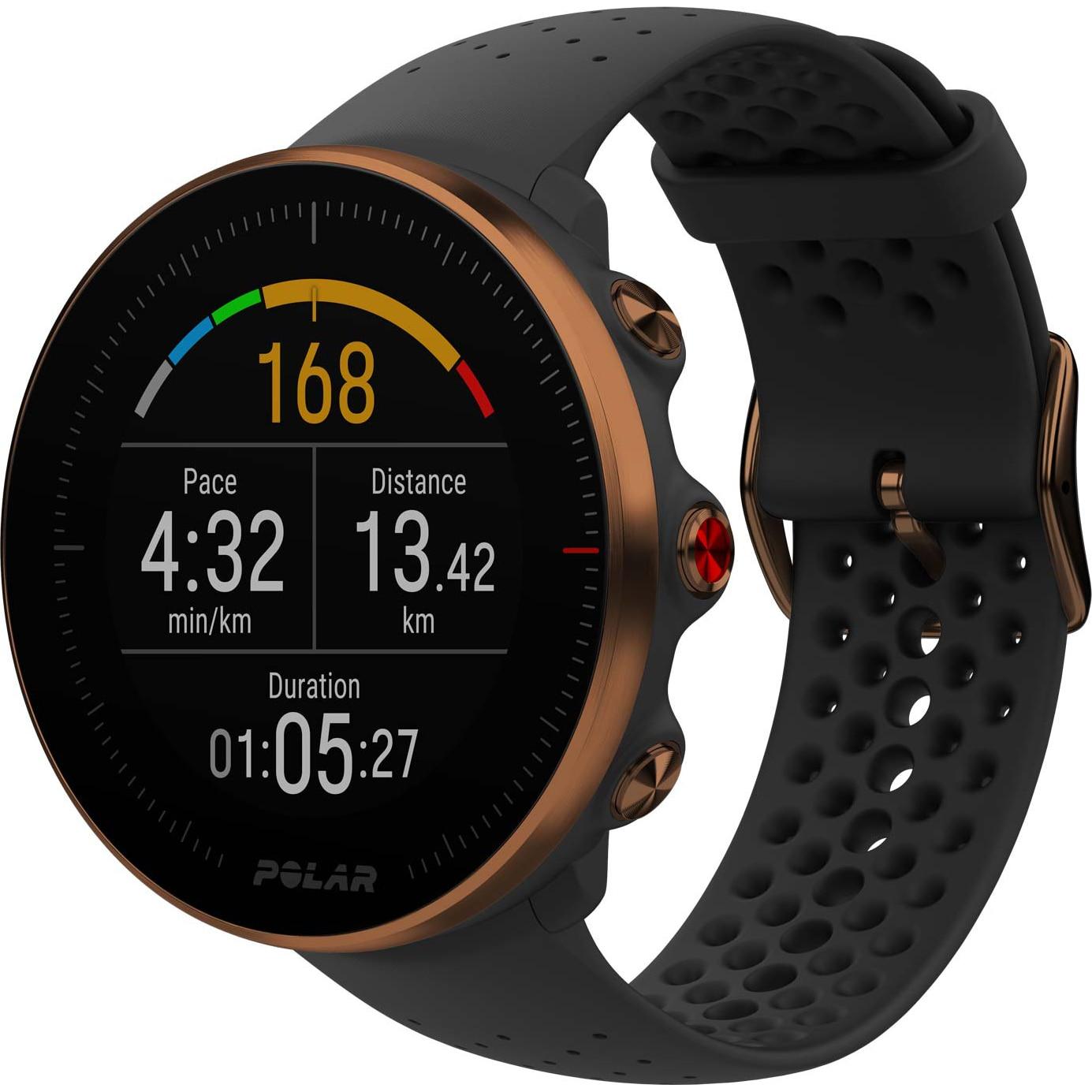 Fotografie Ceas smartwatch Polar Vantage M, GPS, Medium/Large, Black/Copper