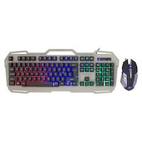 White Shark APACHE-2 gamer billentyűzet, 104 gomb, nemzetközi kiosztás + 3200 dpi gaming egér szett