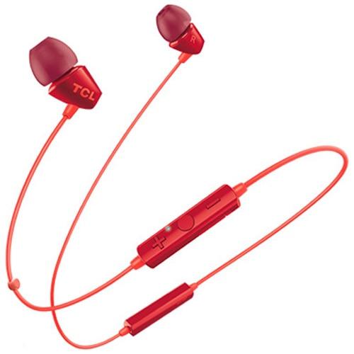 Fotografie Casti Bluetooth in-ear TCL SOCL100BTOR-EU, Sunset Orange