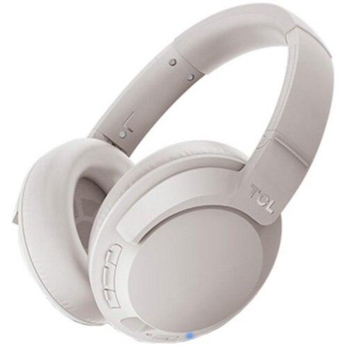 Fotografie Casti Bluetooth over-ear TCL ELIT400NCWT-EU, HRA, ANC, Hi-Res Audio, Cement Gray