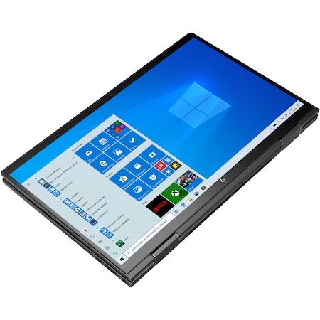 "Лаптоп 2в1 HP ENVY x360 13-ay0024nn, 13.3"" Touch, AMD Ryzen™ 7 4700U, RAM 8GB, SSD 512GB, AMD Radeon™ Graphics, Microsoft Windows 10 Home, Black"
