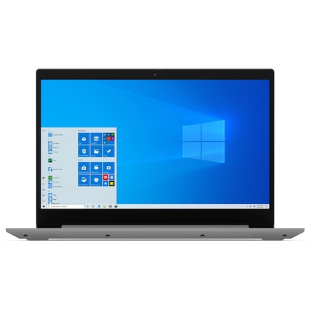Лаптоп Lenovo IdeaPad 3 15IIL05 с Intel Core i5-1035G1 (1.0/3.6 GHz, 6M), 12 GB, 256GB M.2 NVMe SSD, Intel UHD Graphics, Без OS, сребрист