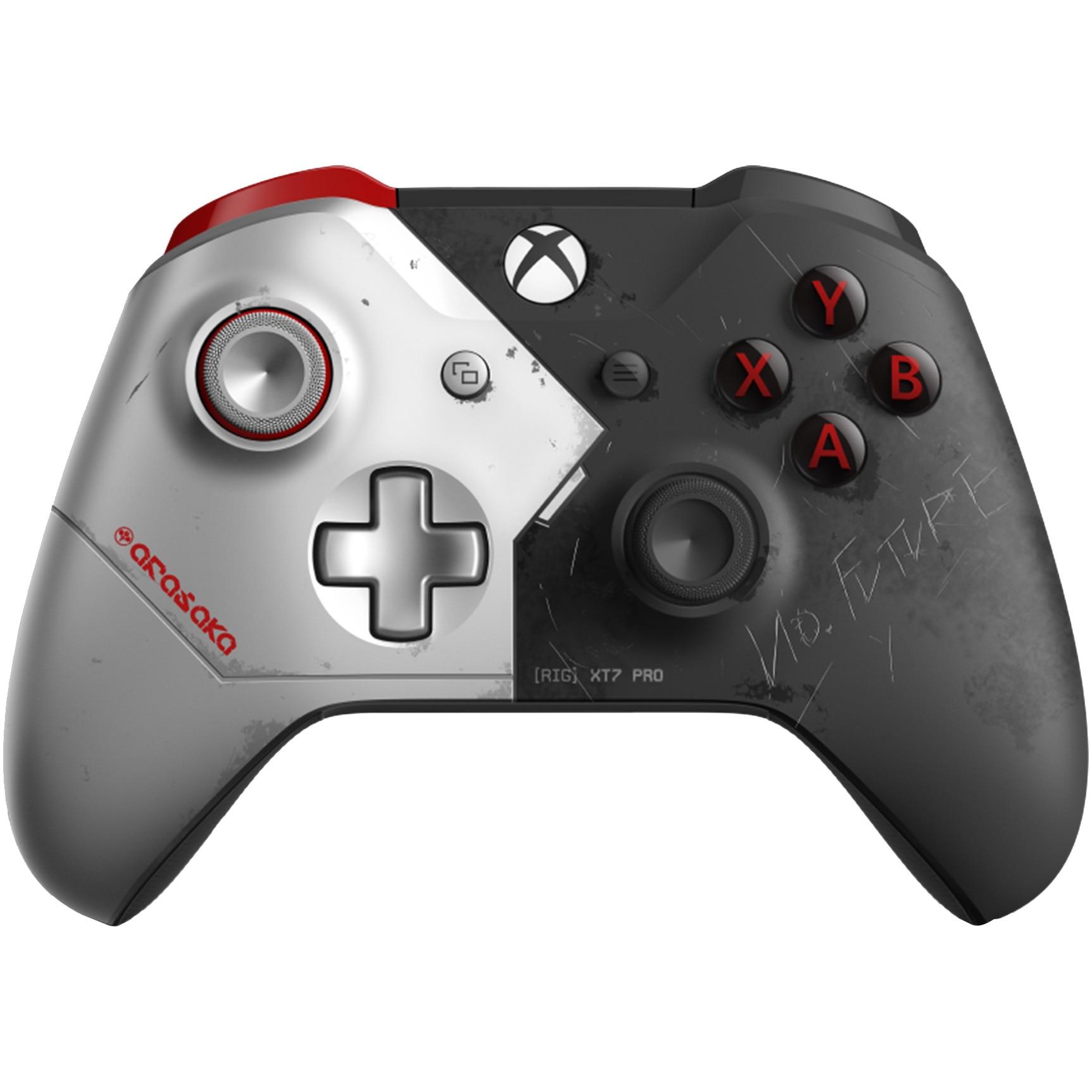 Fotografie Controller wireless Microsoft Cyberpunk 2077 Limited Edition pentru XBox One
