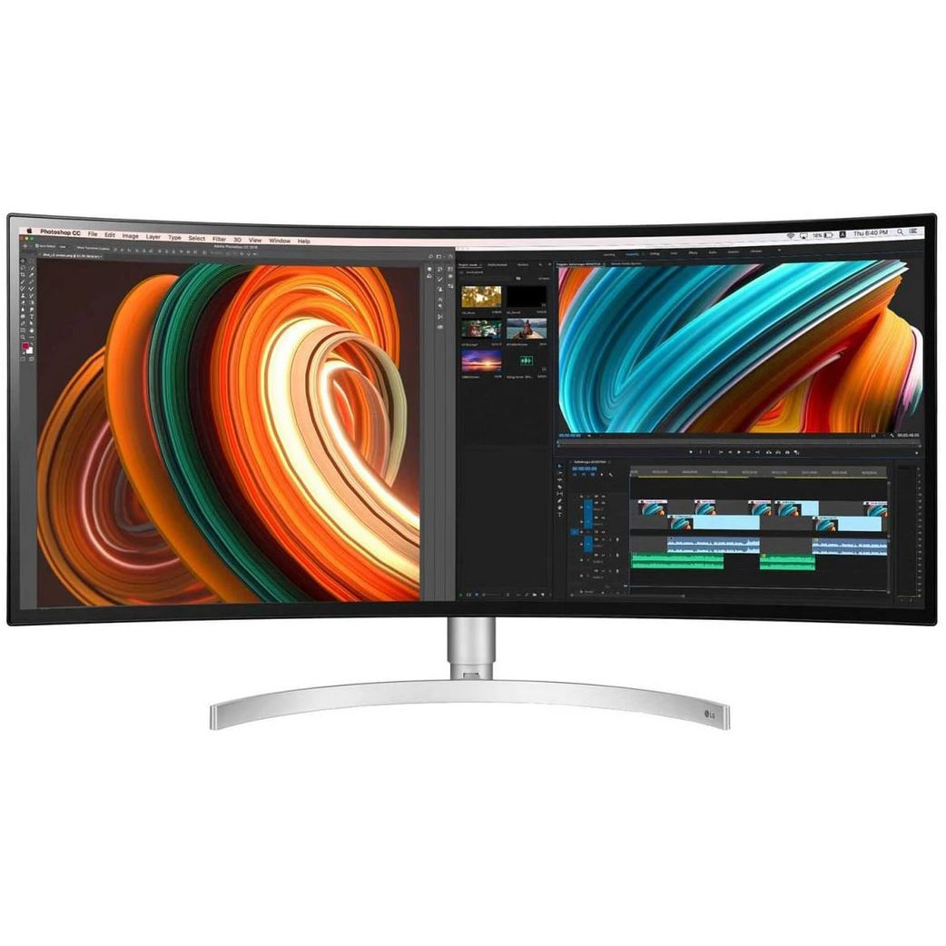 "Fotografie Monitor curbat UltraWide QHD Nano IPS LG 34"", 21:9"
