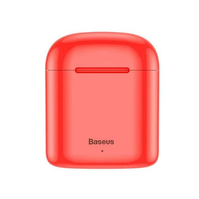 Baseus TWS Encok W09 mini nélküli fülhallgató a Bluetooth 5.0 TWS Red (NGW09-09) X5zAeu