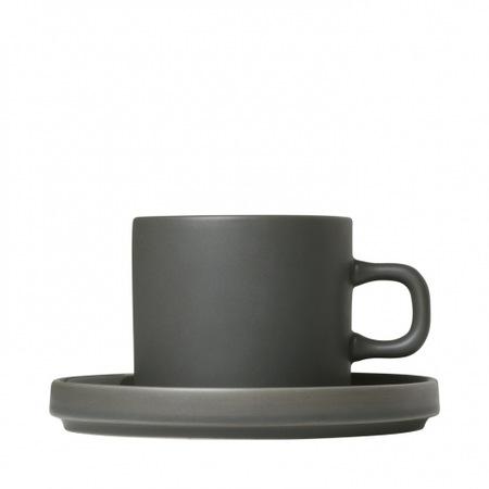 Mio cappucinós csésze szett 2 db olajzöld
