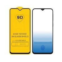 Стъклен протектор за целия екран Tempered Glass за Samsung Galaxy A40, Черен, Full Glue Cover, 9D