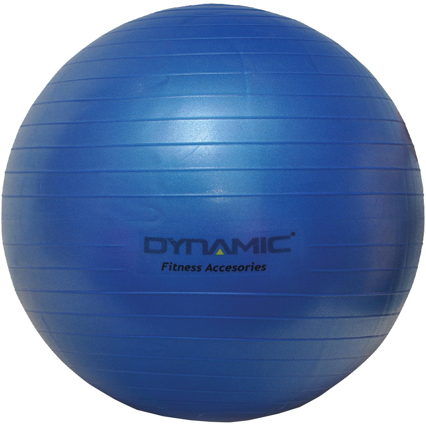 Fotografie Gym-ball fitness Kondition Dynamic, 55 cm, cu pompa, Albastru