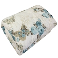 HomeStill Pillangó/Virág mintás takaró, pamut, nyomtatott, mosható, 180x210cm