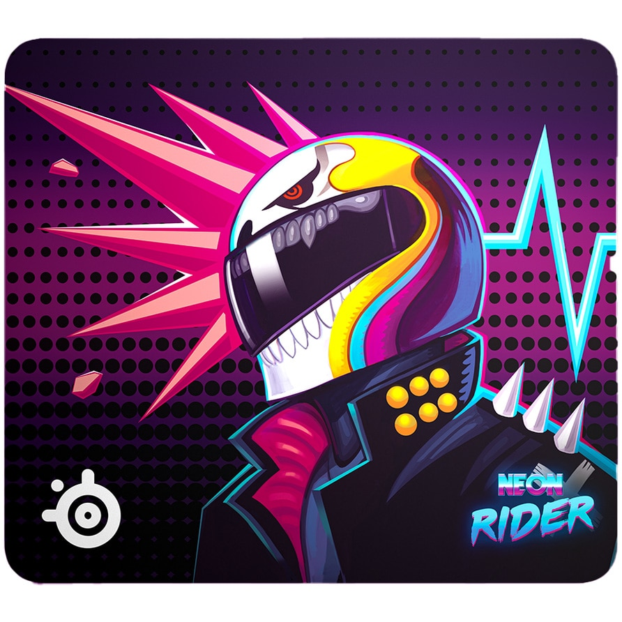 Fotografie Mousepad SteelSeries QcK Large, Neon Rider Special Edition