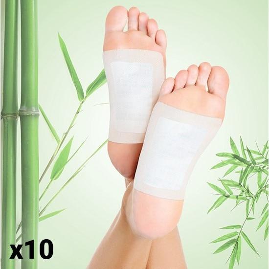 plasturi de detoxifiere picioare