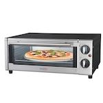 Hauser TO-1513 mini sütő, 1300W, 15L, 230 fok max hőmérséklet, Ezüst