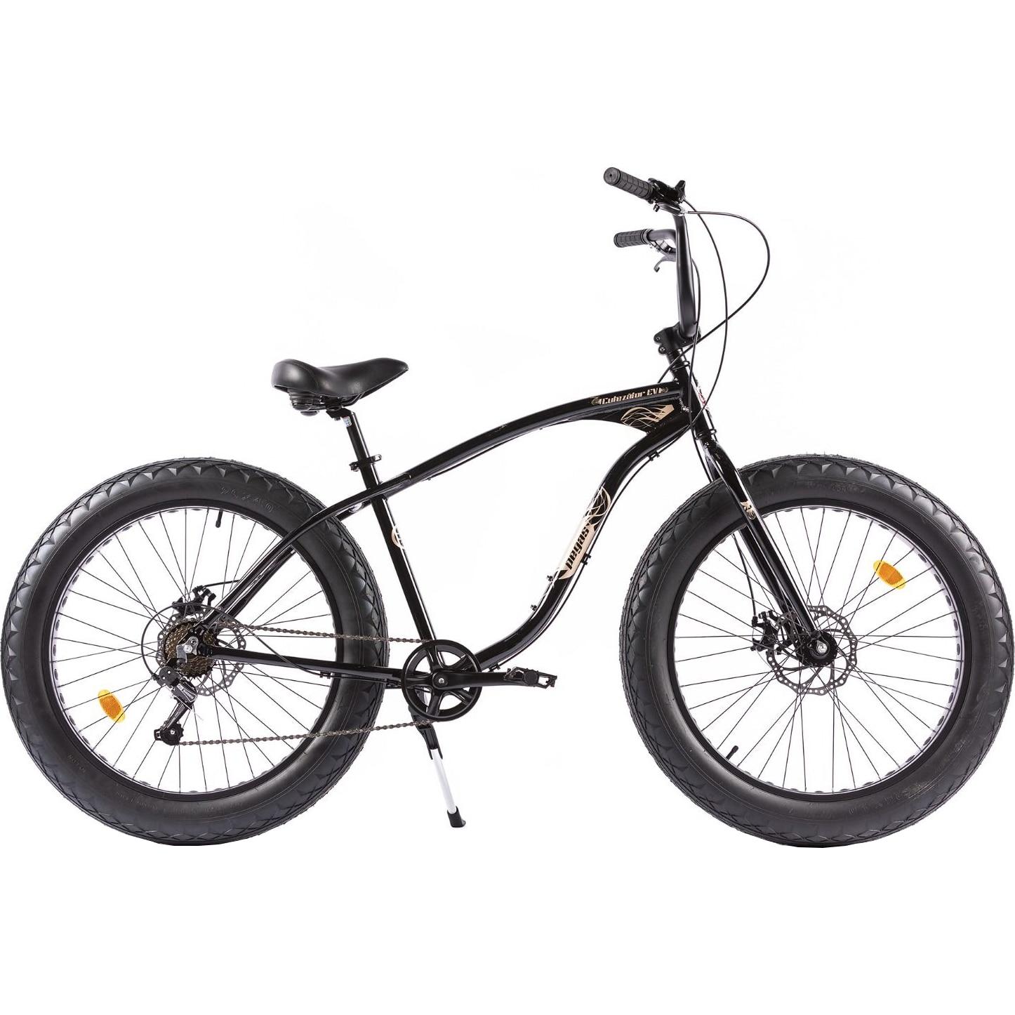 Fotografie Bicicleta Pegas Fat Bike Cutezator Ev, 7s, Negru Stelar