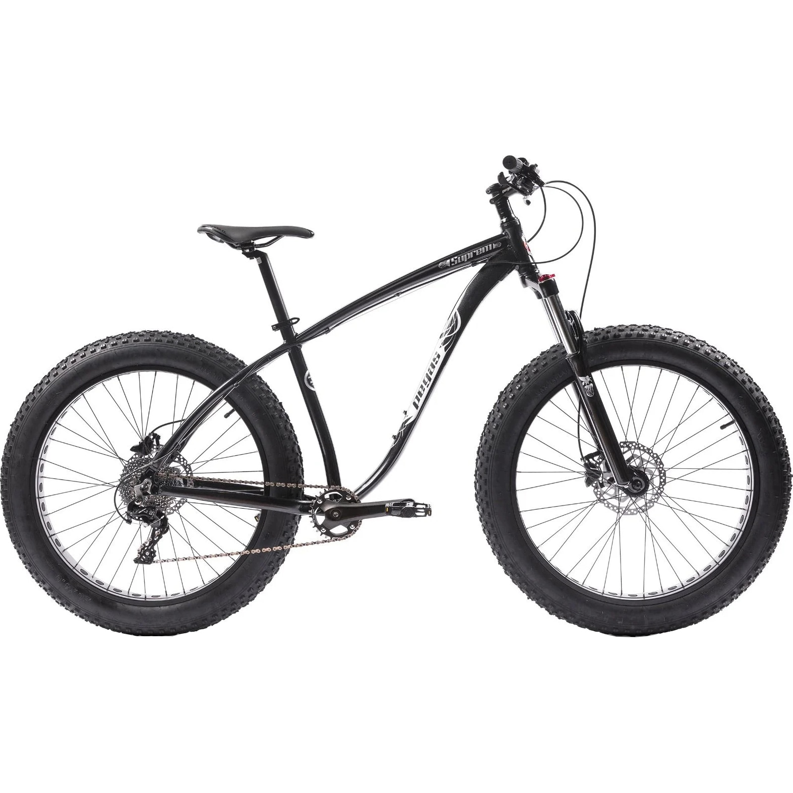Fotografie Bicicleta Pegas Fat Bike Suprem AM18, 10s, Negru Stelar