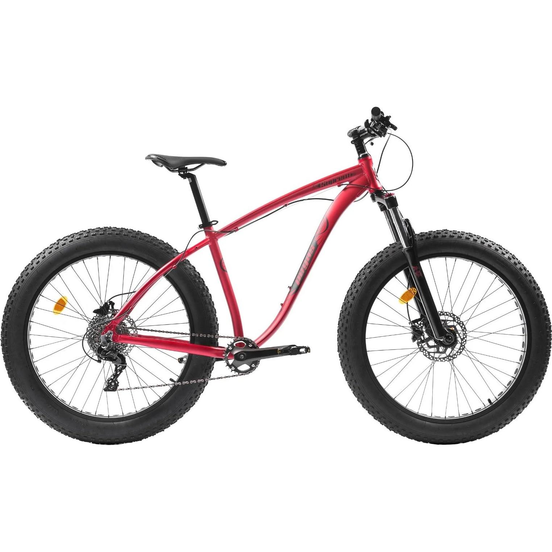Fotografie Bicicleta Pegas Fat Bike Suprem AM18, 10s, Rosu Mat