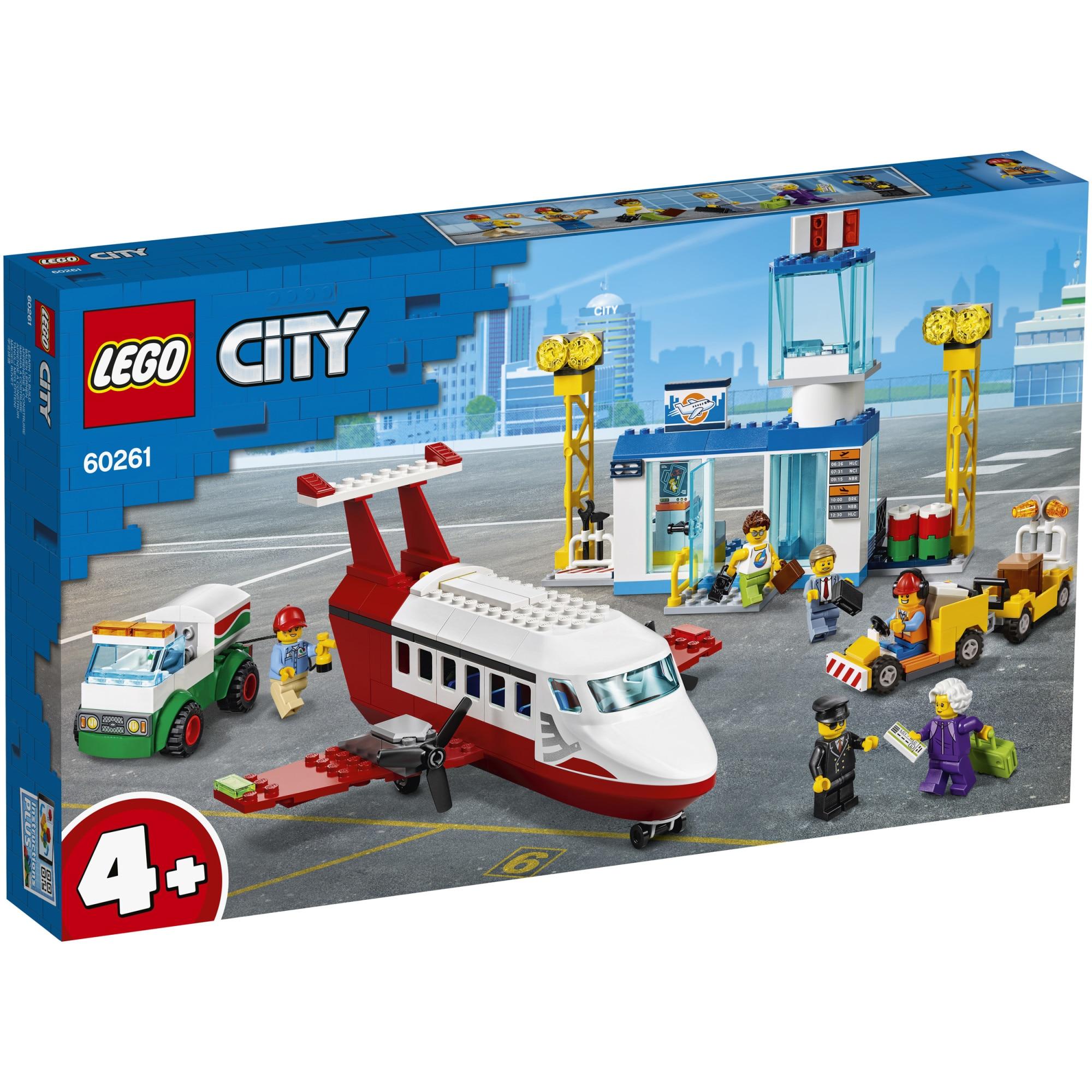Fotografie LEGO City - Aeroport central 60261, 286 piese