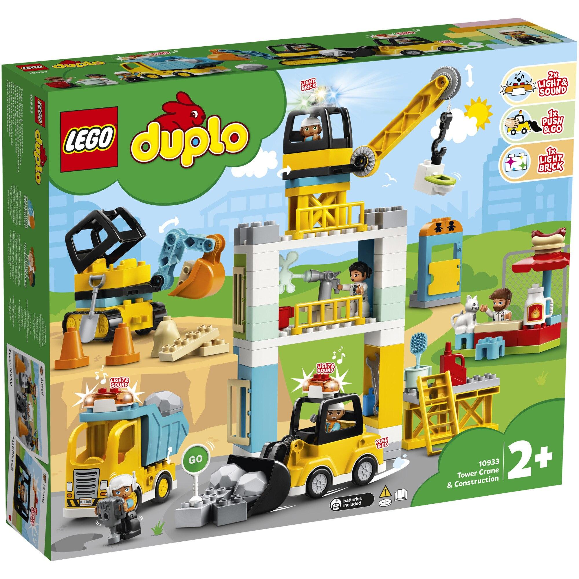 Fotografie LEGO DUPLO - Macara si constructie 10933