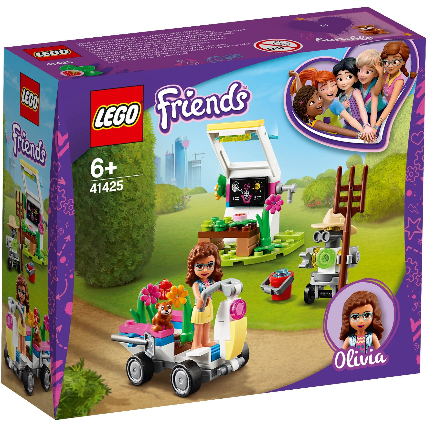 Fotografie LEGO Friends - Gradina cu flori a Oliviei 41425