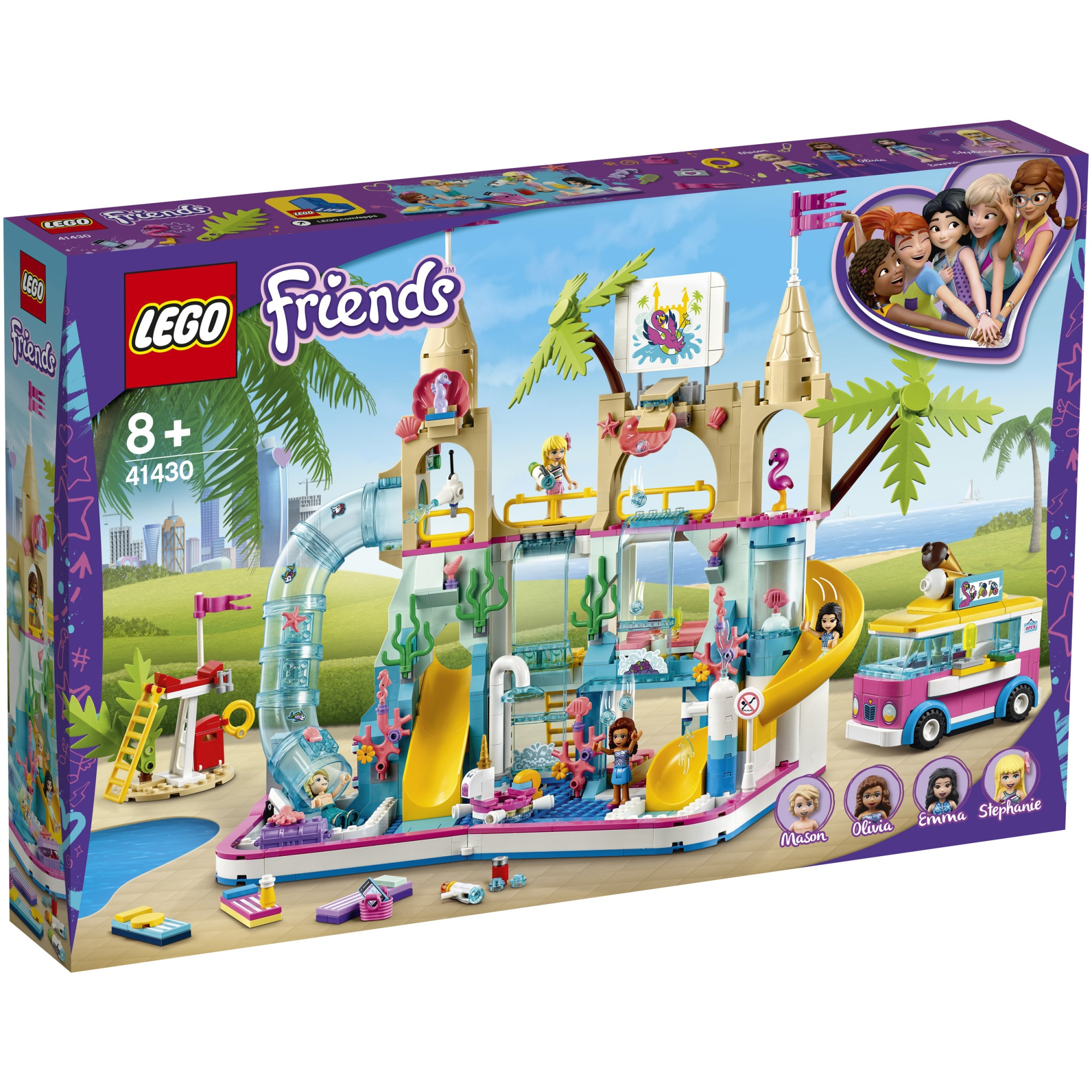 Fotografie LEGO Friends - Parc acvatic distractiv 41430