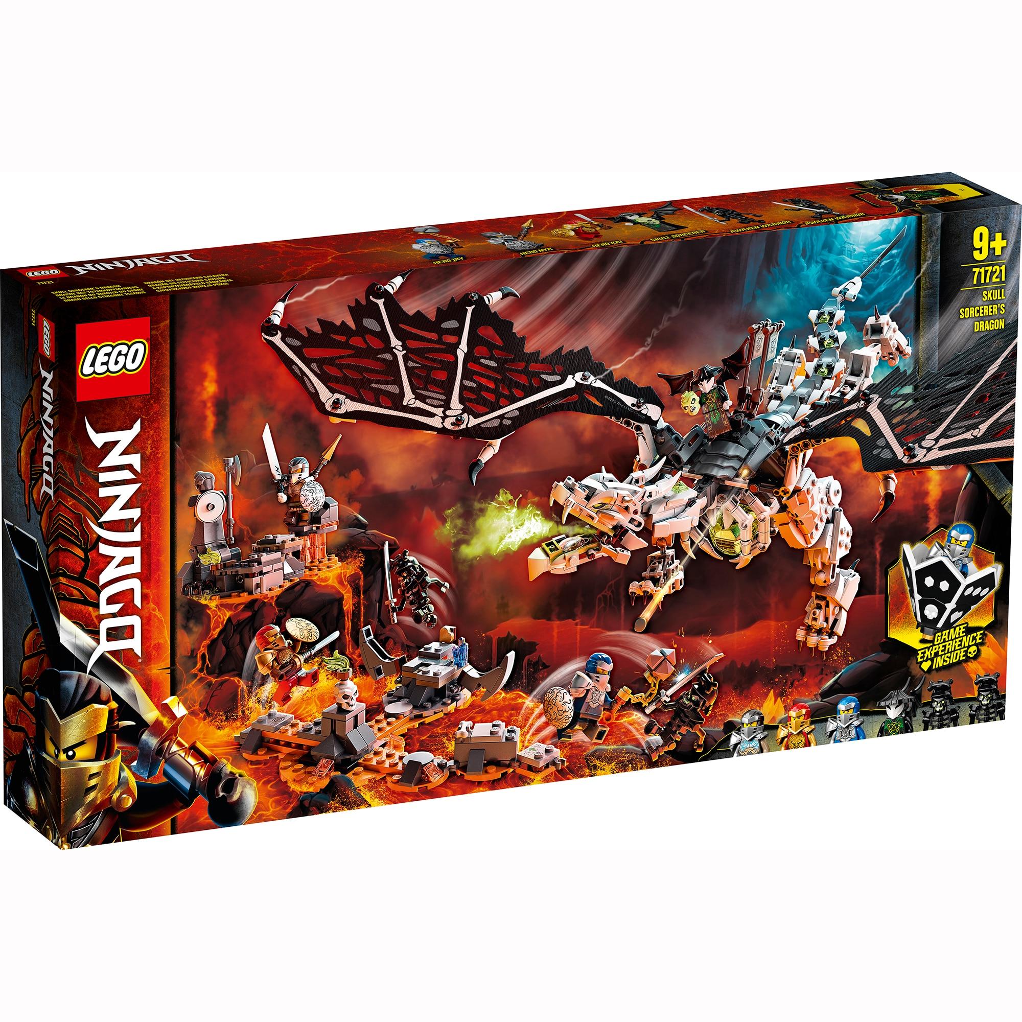 Fotografie LEGO NINJAGO - Dragonul vrajitorului Craniu 71721, 1016 piese
