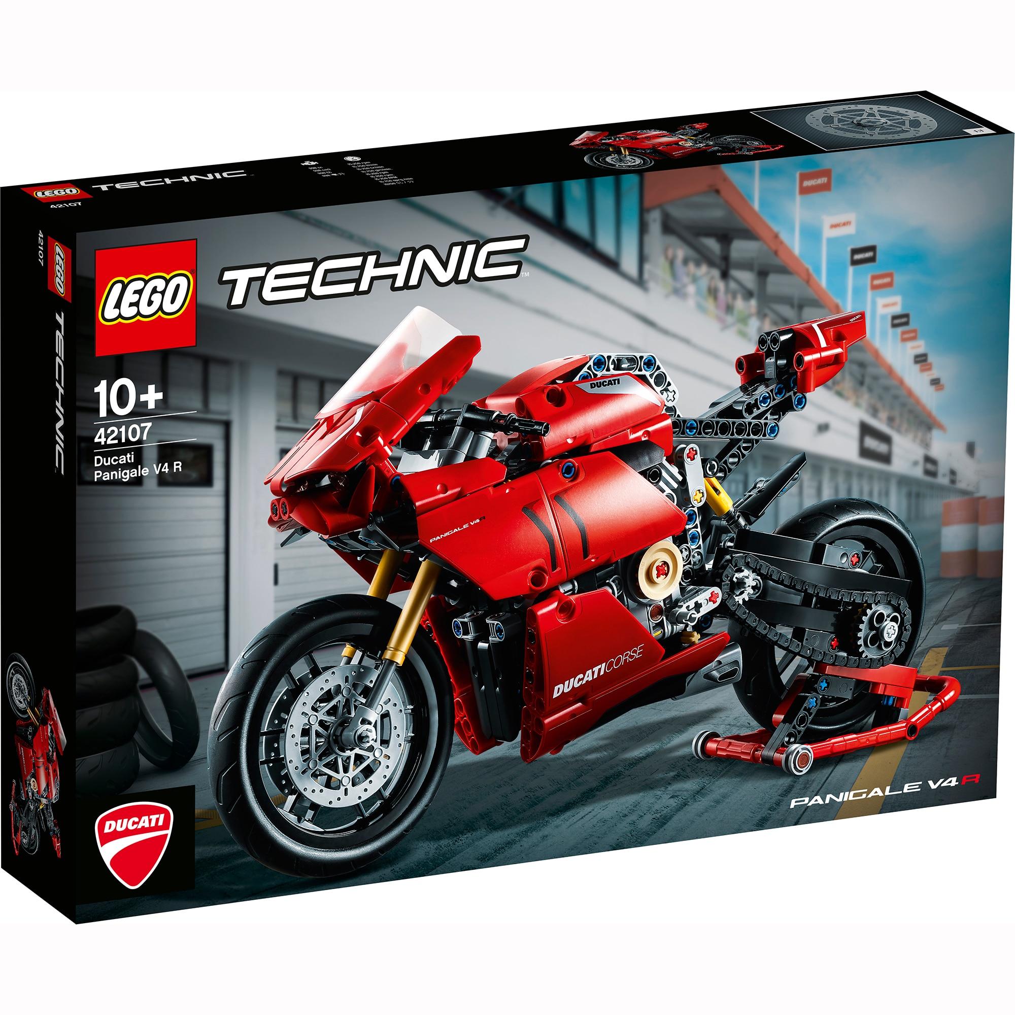 Fotografie LEGO Technic - Ducati Panigale V4 R 42107, 646 piese