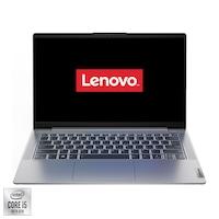"Laptop ultraportabil Lenovo IdeaPad 5 14IIL05 cu procesor Intel Core i5-1035G1 pana la 3.60 GHz, 14"", Full HD, 16GB, 512GB SSD, Intel UHD Graphics, Free DOS, Platinum Grey"