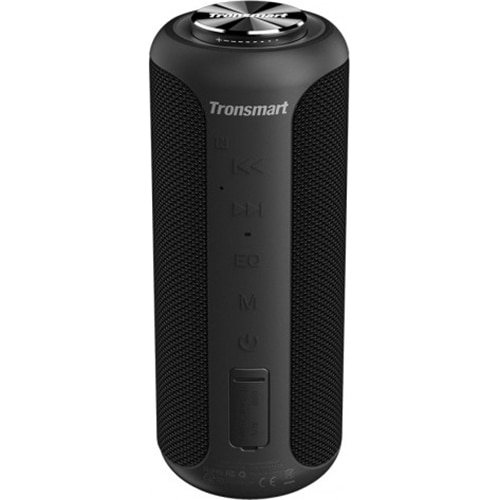 Fotografie Boxa portabila T6 Plus Upgraded, Bluetooth 5.0, IPX 6 rezistenta la apa, baterie 6600 mAh, functie de baterie externa, 40W, negru