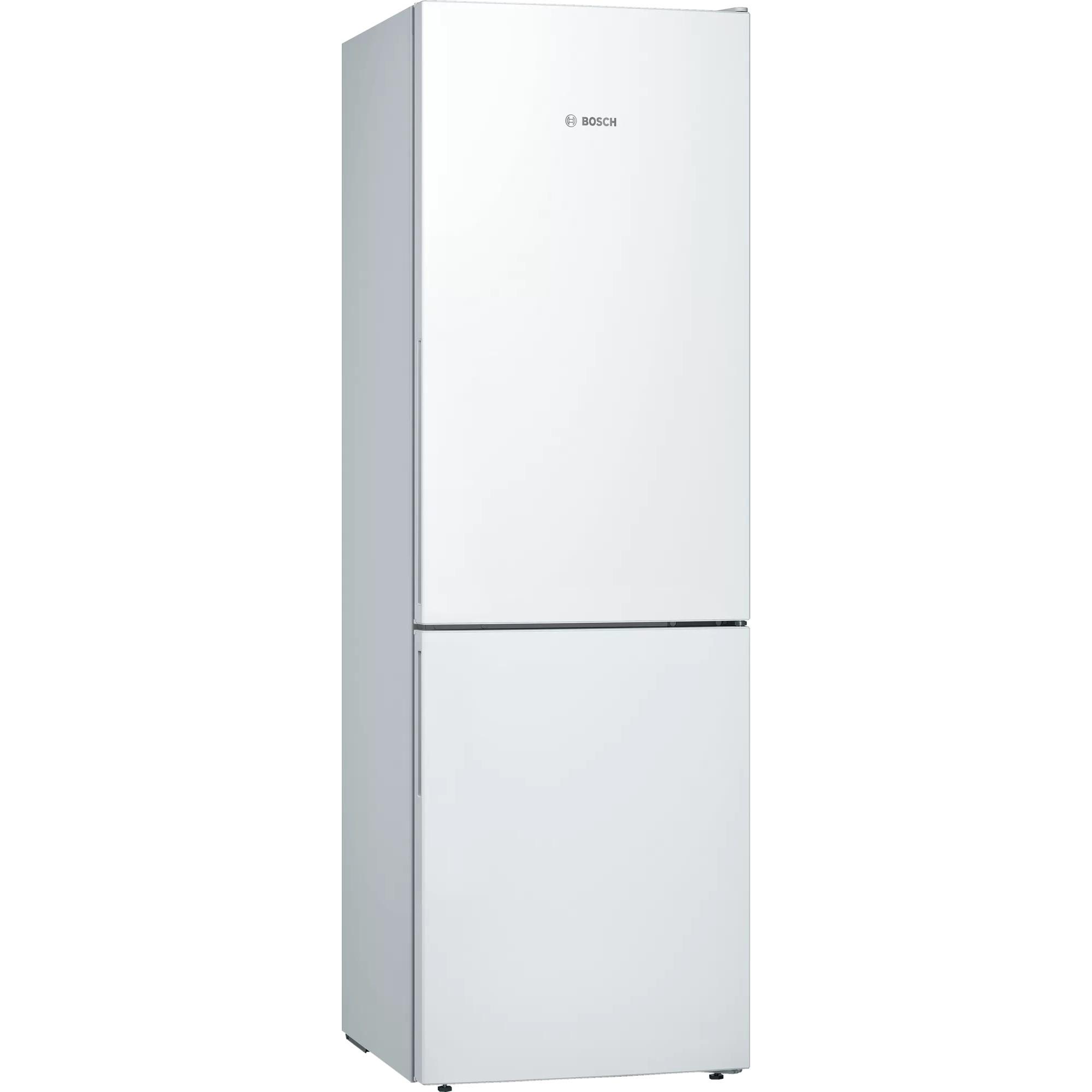 Fotografie Combina frigorifica Bosch KGE36AWCA , 308 l, Clasa C, Low Frost, VitaFresh, H 186 cm, Alb
